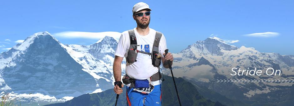 Dr Kern Completes Eiger Ultra Trail