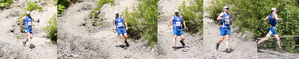 Dr. Jared Kern takles Mt. Marathon